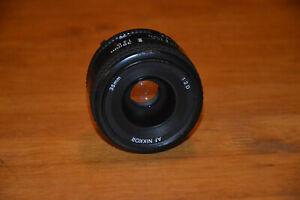 Nikon AF Nikkor f/2D 35mm Lens *READ DESCRIPTION*