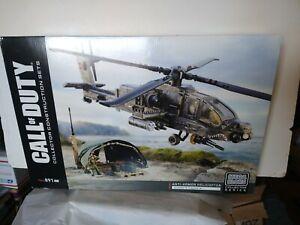 Mega Construx Call of Duty Anti Armor Helicopter 891pc Building Set Bloks NIB