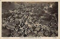 POSTCARD  YORKSHIRE  DONCASTER -  CONISBOROUGH - AERIAL -  VIEW Circa 1919- RP