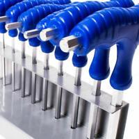 T-Handle Allen Keys Set 2.5-6mm Metric Hex Wrench Alan Key Stand 7-shaped qwe