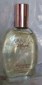 VANILLA MUSK  BY COTY  COLOGNE SPRAY 1.7 OZ, NEW NO BOX