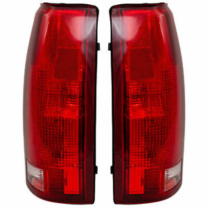 P.FITS FOR CHEVY /GMC C1500 1998 - 1998 REAR TAIL LIGHTS RIGHT & LEFT PAIR SET