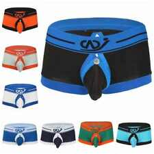 Sexy Men Underwear Boxer Brief Jockstrap Lingerie G-String Short Thong Back Hole