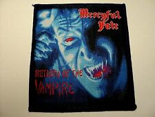 MERCYFUL FATE  RETURN OF HE VAMPIRE WOVEN PATCH