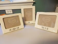 3~NEW❤️Rae Dunn LIVE LAUGH LOVE~ LOVE~THIS IS US Picture LL Frames HTF