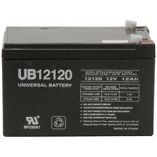 UPG 12v 12Ah 12 volt 12 Amp-hr SLA AGM Sealed Lead Acid Batteries NEW