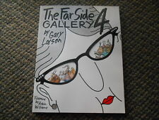 Old Vintage 1993 THE FAR SIDE GALLERY 4 by Gary Larson Forward by ROBIN WILLIAMS