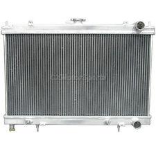 "CXRACING 2"" Core ALUMINUM RADIATOR FOR 95-99 Nissan 240SX S14 KA24 TM"