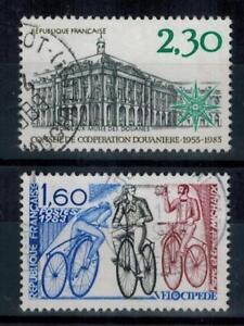 (a18) timbres France n° 2289/2290 oblitérés année 1983