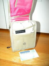 NWOT Travelon Anti-theft Signature Organizer Shoulder Crossbody Bag Champagne