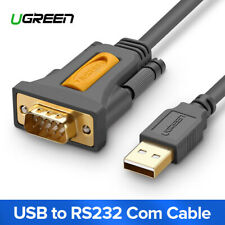 Ugreen USB to RS232 COM Port Serial PDA 9 DB9 Pin Cable Adapter Prolific pl2303