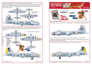 Kits-World 1/48 B-17G Flying Fortress # 48053