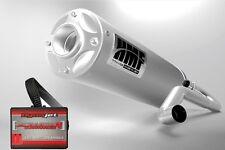 HMF Titan Quiet Full Exhaust + Dynojet PCV PC5 Polaris RZR 800 S 2011 - 2014