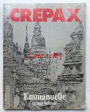 Guido Crepax EMMANUELLE Primo Volume BLUE PRESS 1991 Supplemento 23 BLISTERATO