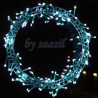 Lichterkranz LED Kranz Ø 62 cm Türkranz Adventskranz Weihnachten Lichterkette