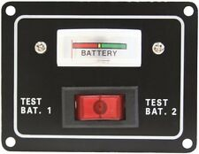 12 Volt Battery Test Switch Dual Test Meter/Gauge Boat/Marine/Caravan/4x4