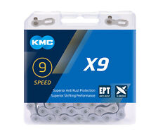 KMC X9-EPT Eco Proteq 9 Speed Bike Chain Rust Proof 650 hr salt spray test Beach