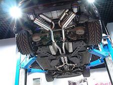 STAINLESS STEEL 304 CATBACK EXHAUST SYSTEM for NISSAN 350Z Z33 G35 V35 VQ35