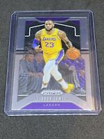 🔥2019-20 Panini Prizm LEBRON JAMES #129 Base *LAKERS ROOKIE RC* 📈🐐🚨🔥