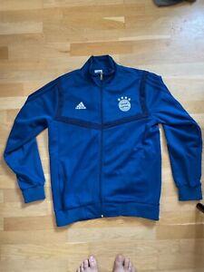 Trainingsjacke FC Bayern München blau L Herren Adidas