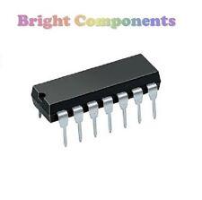 5 x TL074 Op Amp IC (TL074CN) - DIP/DIL14 - Genuine TI - 1st CLASS POST
