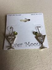 Silver Martini Earrings Silver Moon Sterling