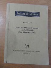 Kohlhammer Milderung dringender sozialer Notstände (Soforthilfegesetz SHG -),551