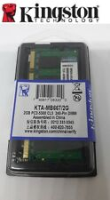 Memoria Ram KINGSTON KTA-MB667/2G DDR2 2GB NOTEBOOK PORTATILE 667Mhz PC2-5300