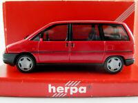 Herpa 021715 Fiat Ulysse (1994-1998) in rubinrot 1:87/H0 NEU/OVP
