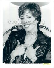 1996 Mackenzie Phillips as Rizzo Grease Broadway Musical Press Photo
