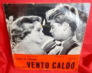 ARMANDO SCIASCIA Lucy's theme dal Film Vento caldo 45rpm 7' + PS OST 1964 ITALY