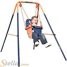 Hedstrom Folding Toddler Swing Outdoor Garden Baby Kids Summer Playset Frame