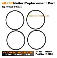 4 x Replacement IM350 top fan o'ring 403992 for Paslode Nailer IM350