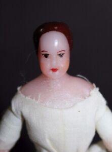 Vintage WAX Dollhouse LADY DOLL