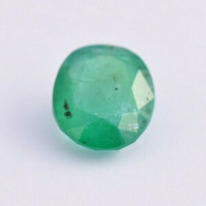 Emerald 10.15ct Oval shape Untreated Natural Emerald - Eye Clean + CERTIFICATION