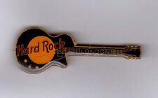 Hard Rock London black Les Paul guitar pin coated FC Parry early 1980's RARE!!