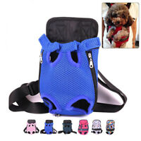 Mesh Pet Carry Breathable Cat Dogs Puppy Shoulder Backpack Travel Portable Bags