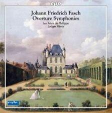 JOHANN FRIEDRICH FASCH: OVERTURE SYMPHONIES NEW CD