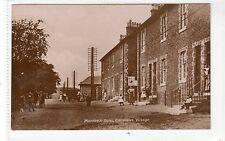 MONTEITH ROW, CARSTAIRS VILLAGE: Lanarkshire postcard (C18473)