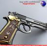 Beretta 92 Gun Collectors Keyring Italian Berretta Pistol Keychain Desert Eagle
