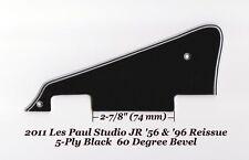 Les Paul LP JR Black 5-Ply P-90's Pickguard for Gibson Epiphone Project 60 Edge