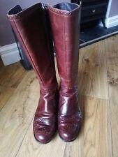 Femmes Clarks Chaussures Bottes Taille UK 5.5 au-dessous du genou
