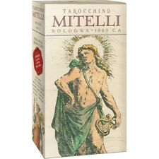 Tarocchino Mitelli Deck Bologna 1660 C A NEW Sealed 62 cards Numbered edition