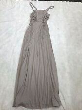 Womens Fashion French Connection Maxi Dress UK 8 Stone (Lavender Blush) BNWT