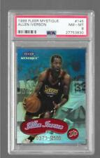 1999 Fleer Mystique - ALLEN IVERSON - Red Star #145 - PSA 8 NM-MT - SIXERS /2500