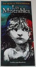 Les Miserables 2014 Broadway Musical Revival Advertising Flyers (6)