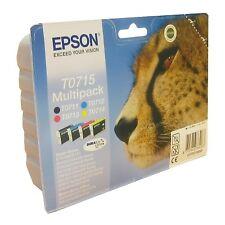 Epson T0715 original genuino Multipack