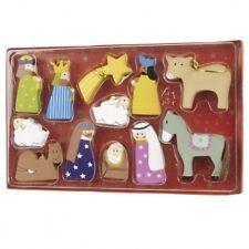 Heaven Sends Nativity Set Tree Decorations - Tree hanging decoratios