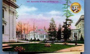 ALASKA YUKON EXPOSITION SEATTLE 1909 YUKON & BERING AVE postcard