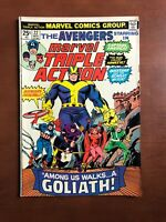 Marvel Triple Action #22 (1974) 7.5 VF Key Issue Bronze Age Comic Book Avengers